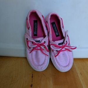 Toddler Girls Pink Sperry Top-Sider size 10